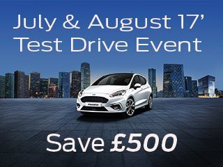 July & August Test Drive Event
