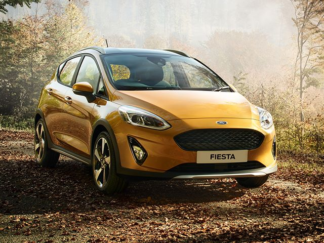 All New Fiesta Active