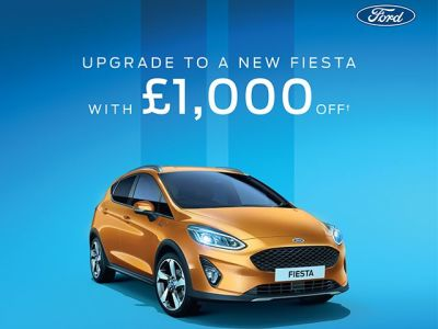 New Fiesta £1000 Trade In Offer