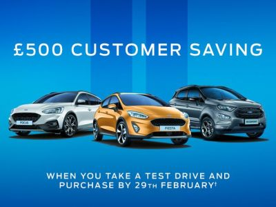 £500 February Customer Saving