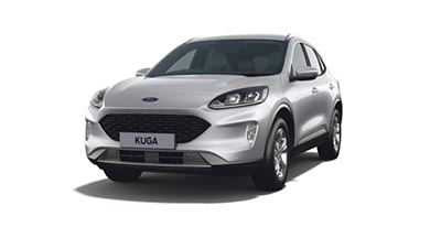 Ford New Kuga - Available In Moondust Silver