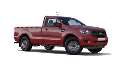 Ford New Ranger - Colorado Red