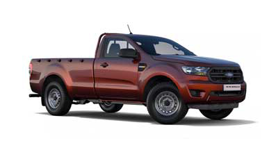 Ford New Ranger - Available In Copper Red